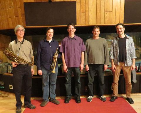 Left to right - Bob Kenmotsu, Ian Carey, Doug Miller, Bryan Bowman and Matt Clark